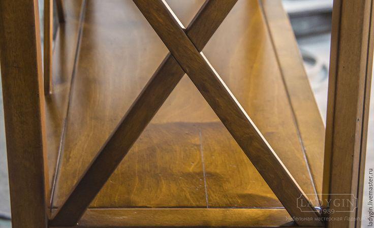 Купить Деревянная этажерка 205 см. в стиле прованс - этажерка, прованс, стеллаж, старение, французский