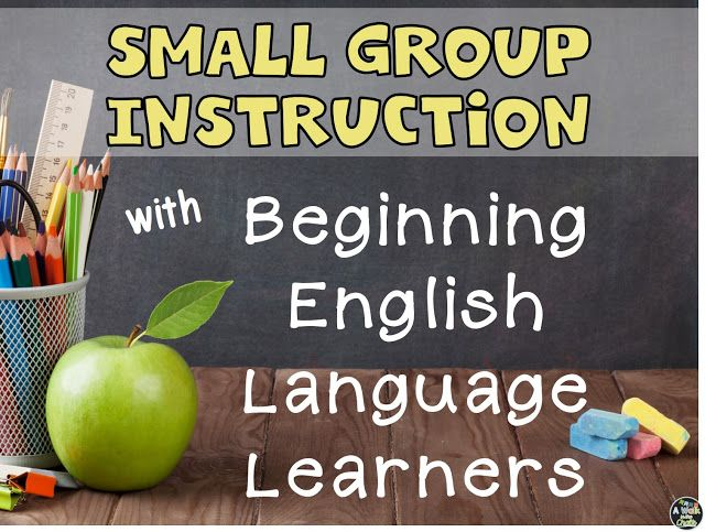 This blog post includes a sample reading lesson that could be used with a newcomer ELL!  This is fabulous!