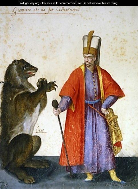 Yeniçeri- Jacopo Ligozzi ( 1547–1626 )