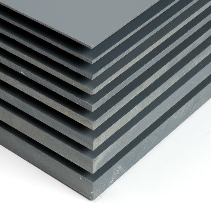 Pvc gris planchas de pvc gris de aspecto muy industrial for Portillon pvc gris