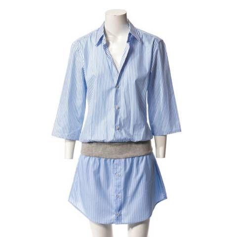 Schnittmuster: Hemdblusenkleid nähen - eine Anleitung