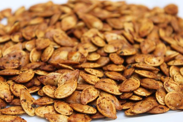 Honey Roasted Pumpkin Seeds | Breads / Side Dishes / Meatless Recipes ...