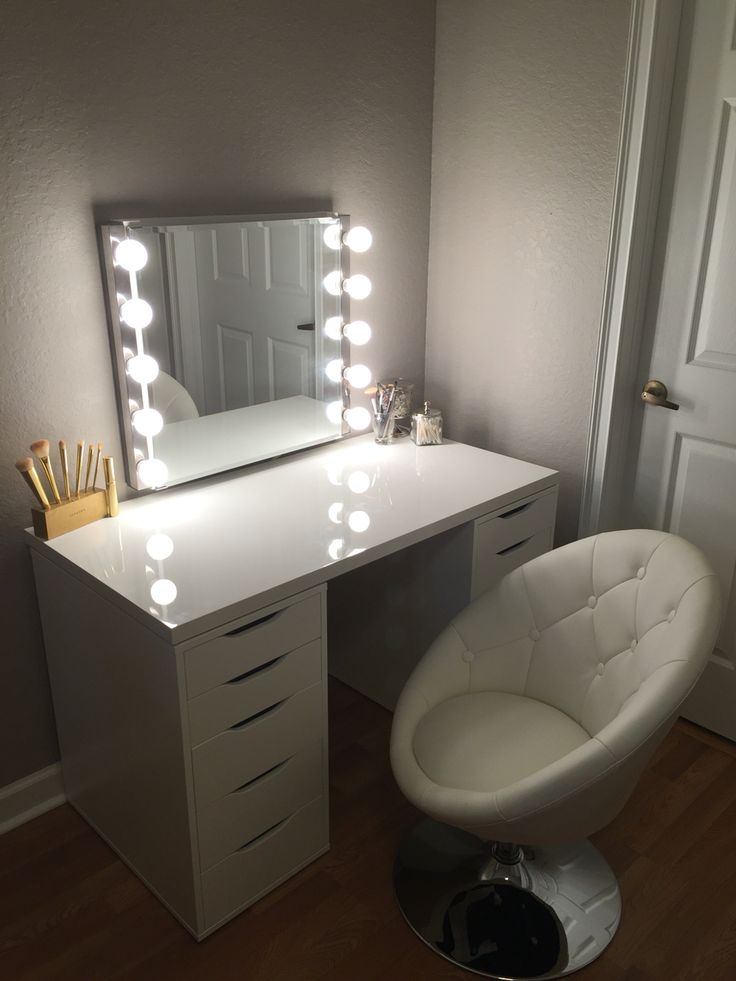 Ikea Makeup Vanity Beauty Ikea Makeup Vanity Diy