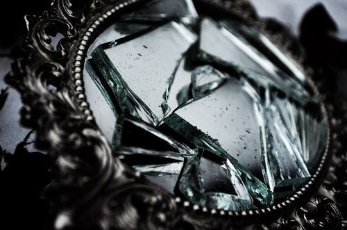 A shattered mirror reflects more LIGHT than a mirror that is whole.