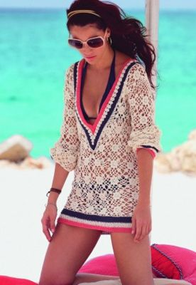 super cute crocheted cover up!!!