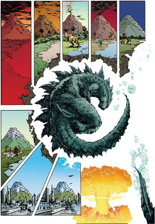 Godzilla: Awakening by Eric Battle
