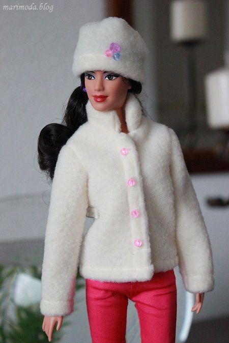 Zimné oblečenie   blog o šití pre barbie