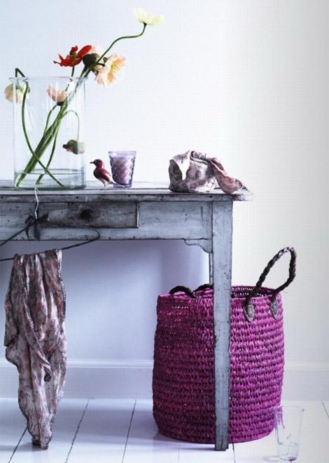 Un toque floral, un toque artesanal, una antigüedad y ganas de tener un espacio lindo. Anímate!