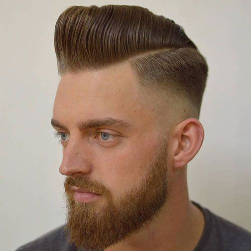 Galerry pompadour haircut yourself