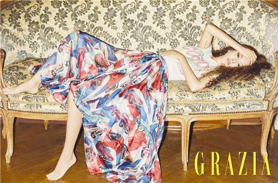 Han Ye Seul Discusses Her New Goals with 'Grazia' Photoshoot | Koogle TV
