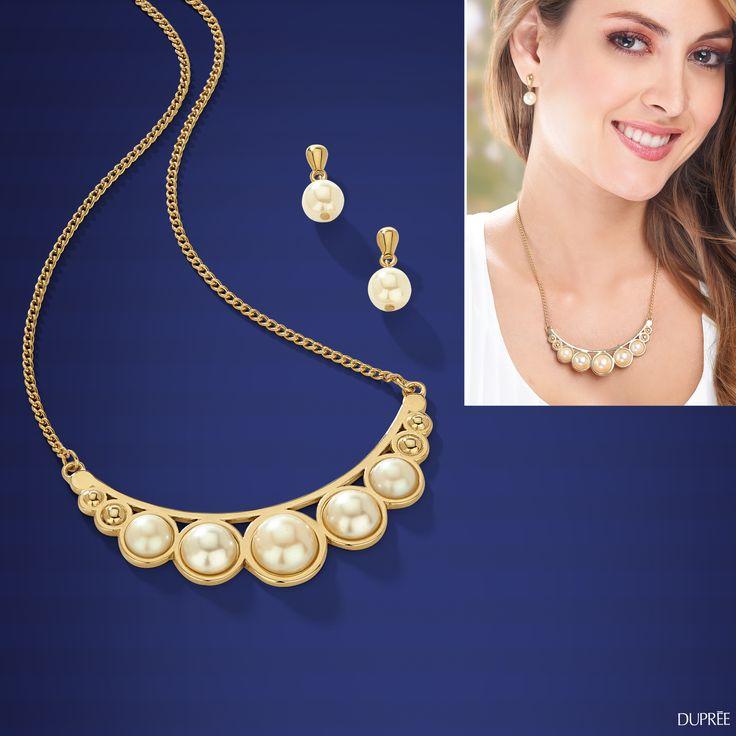 Perlas que no pasan de moda. #Joyas #Accesorios #Tendencias #dupree