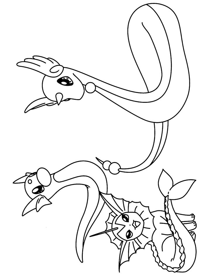 pokemon group coloring pages - photo#36