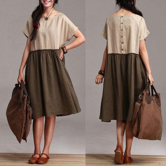 1000  images about my lovely linen on Pinterest  Linen skirt ...