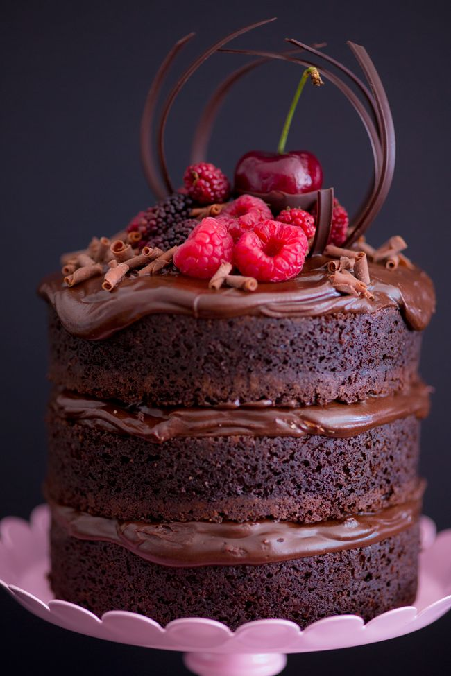 Mini Naked Cake de Nutella - Receitas - I COULD KILL FOR DESSERT