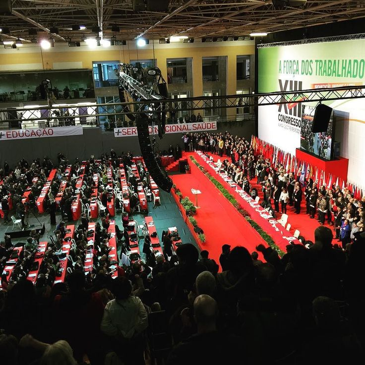 XIII Congresso da CGTP-IN  #aforçadostrabalhadores