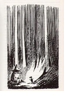 tones bokmerke : Tove Jansson: Det usynlige barnet og andre fortellinger