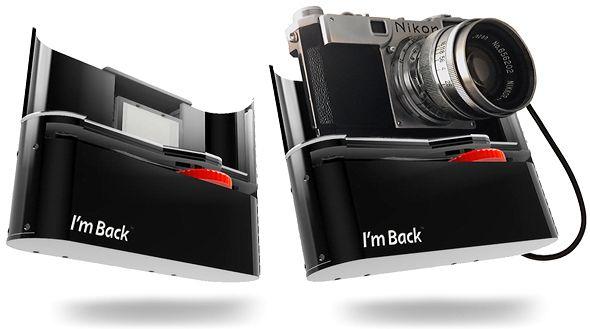 I'm back – wie man fast jede alte Kleinbild-SLR zur Digitalkamera macht