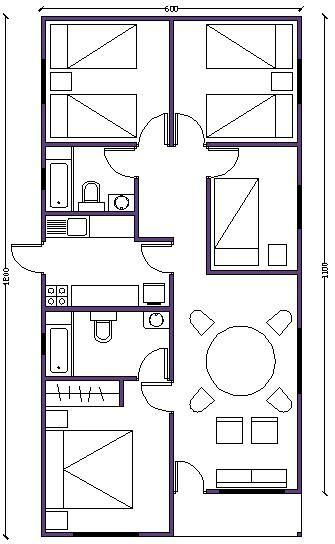 Las 25 mejores ideas sobre planos de casas prefabricadas - Habitaciones prefabricadas economicas ...