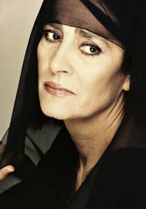 Irene Papas. Actress.