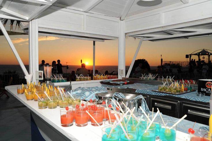 Snacks, cocktails and aperitifs: at the bars of Hotel Il Gattopardo Terme & Beauty Farm
