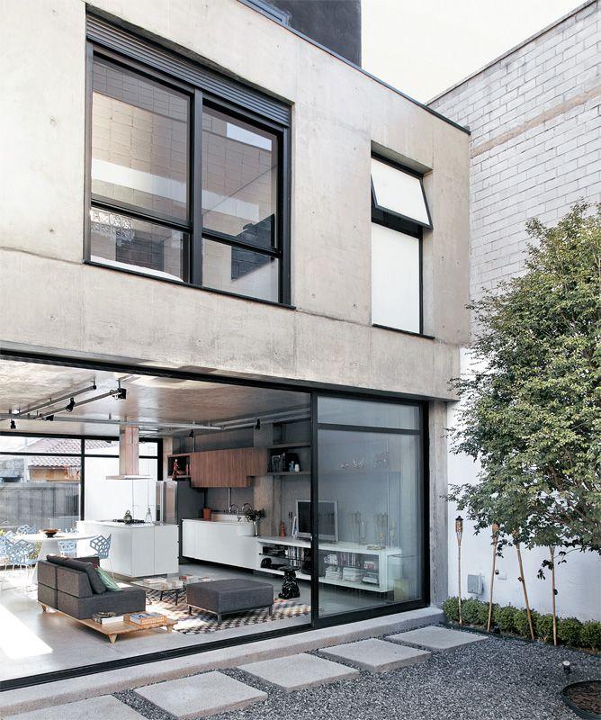 Sobrados econômicos construídos por (e para) dois arquitetos - Casa