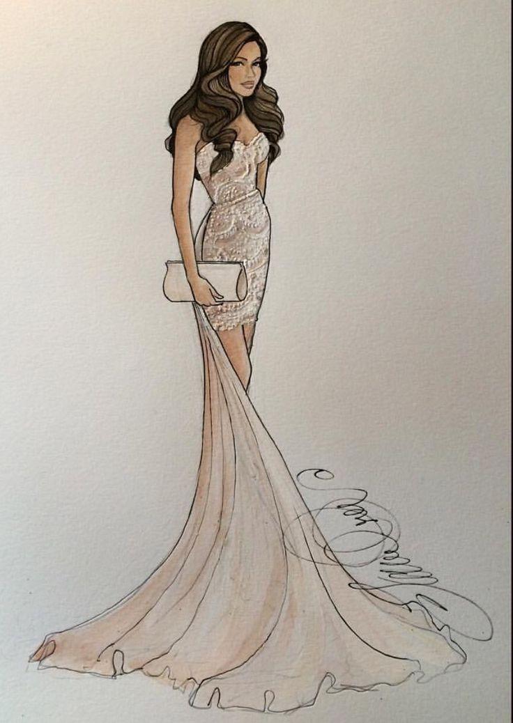 25 best ideas about fashion sketches on pinterest fashion design