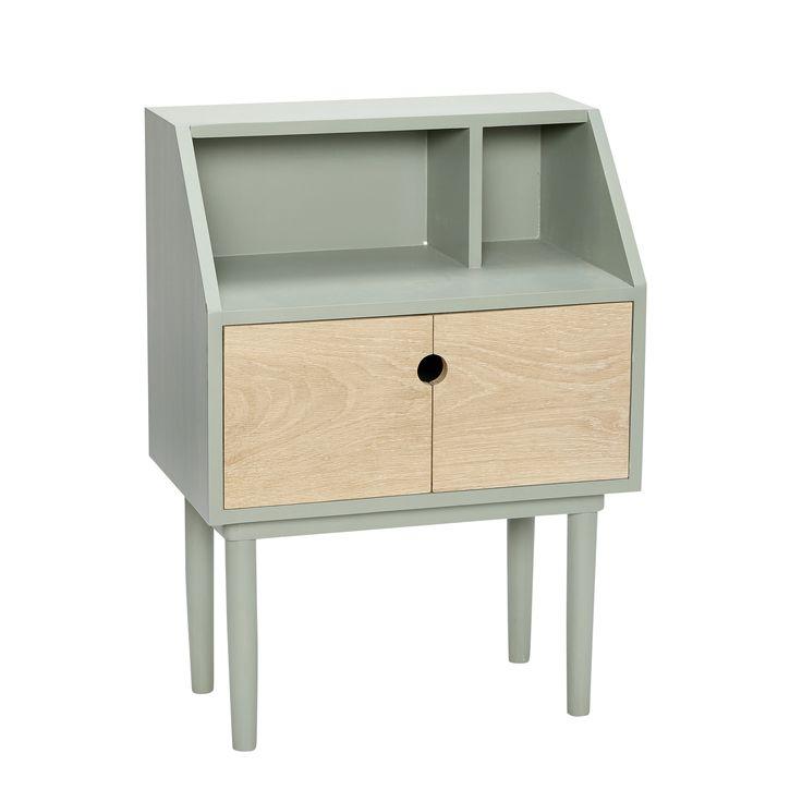 Green wood dresser. Product number: 880112 - Designed by Hübsch