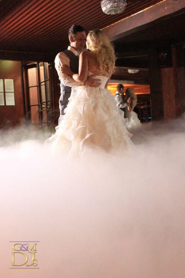 Floating on a sea of clouds during their first dance at Glengariff Historical Estate | G&M DJs | Magnifique Weddings #gmdjs #magnifiqueweddings #weddinglighting #weddingdjbrisbane @gmdjs #bridalwaltz