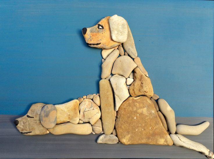 Doğal Taşları Döşereyerek Hayvan Figürleri Yapmak (20) - Doğal taşlar, doğal taş evler ve doğal taş ocakları