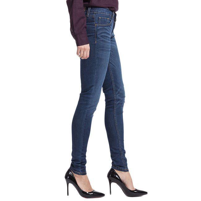 ca6ba8b1153d7 New Levis Womens Dark Blue Wash Stretch Legging Mid Rise Denim Jeans Sz 26 x  30 #Levis #Leggings