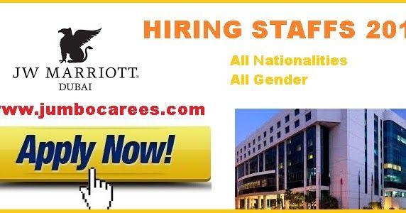 Jw Marriott Dubai Careers 2018 Latest Job Openings At Jw Marriot Dubai 2018 Housekeeping Jobs At Marriott Dubai Chef Jobs At Marr Dubai Hotel Jobs Marriott