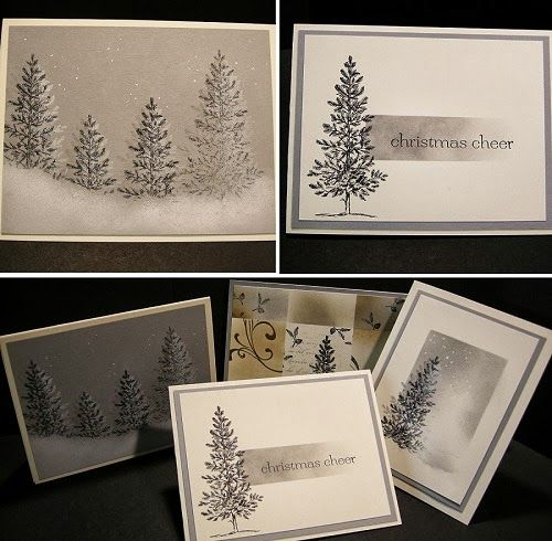Stampin' UP! Latest Class Project Lovely as a Tree