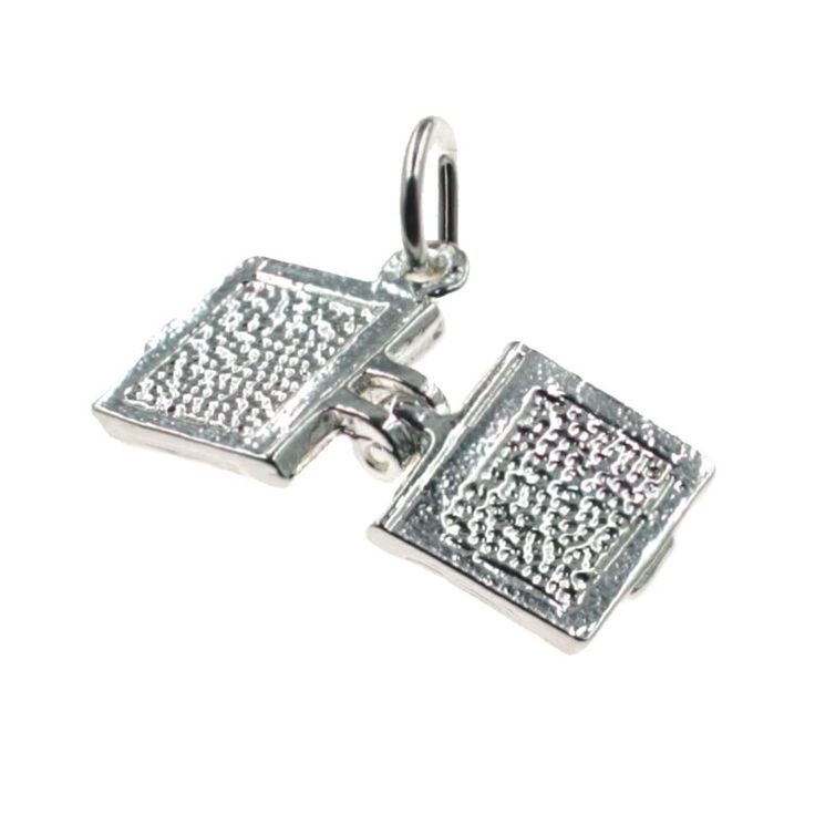Buy our Australian made Book - opens Charm - chr-3021 online. Explore our range of custom made chain jewellery, rings, pendants, earrings and charms.