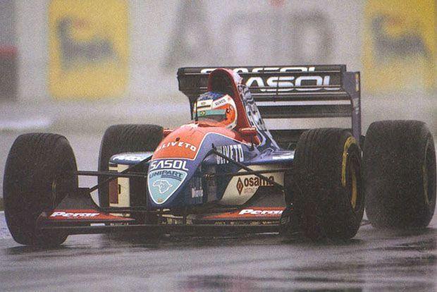Rubens Barrichello quase foi ao pódio na 1ª corrida da carreira (Foto: Forix))