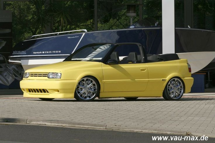 Volkswagen girls | VAU-MAX.de - Bild - VW Golf 3 Cabrio: Girl's Best Friend: - Tuning ...