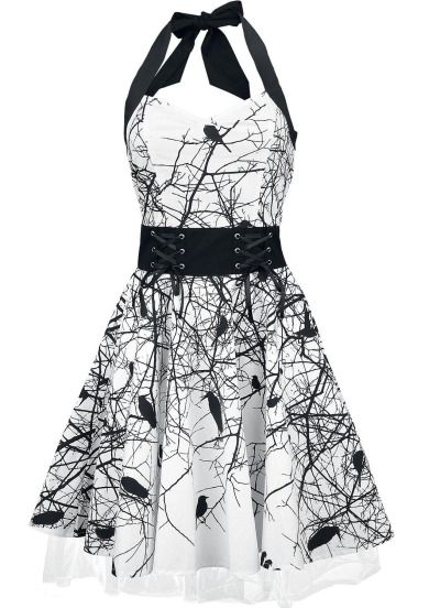 Black Bird Dress-would DEFINITELY wear this to formal gatherings