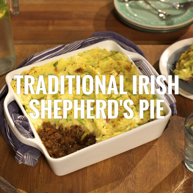 For an easy and flavorful dinner, scoop your family a plate of Irish Shepherd's Pie!