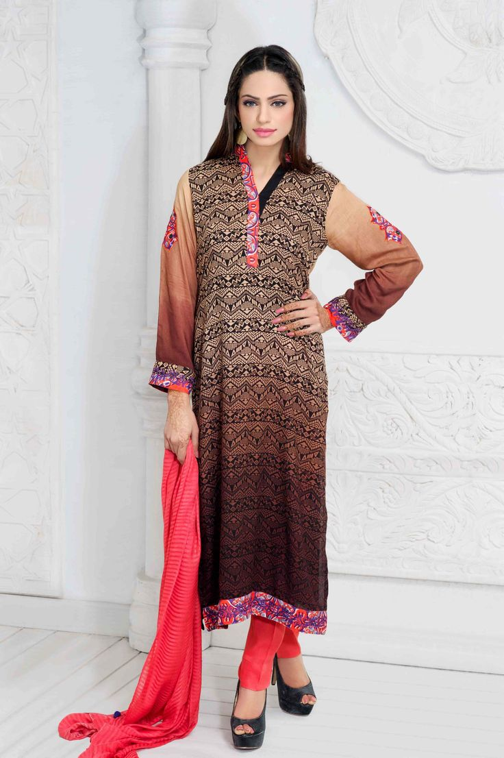 Show details for Linen Tribal Print Suit