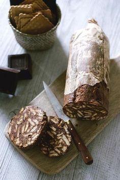 """なんと、焼かないクッキー☆5分でできる! 食べてキレイになれる極上""""チョコサラミ""""のレシピ - LOCARI(ロカリ)"""