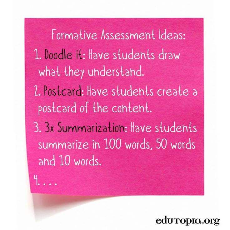 The 25+ best Formative assessment examples ideas on Pinterest - formative assessment strategies