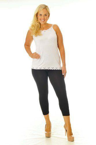 Nouvelle Damen Kurze Leggings Übergröße