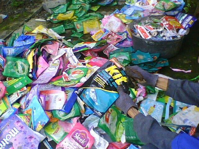Sampah kotor
