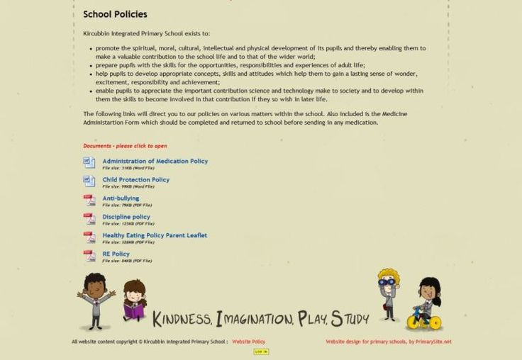 Kircubbin policies page