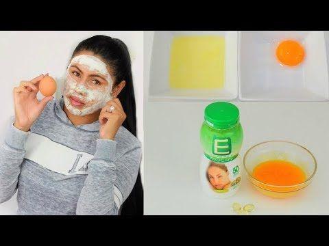 Tratamiento Milagroso para la Cara  Clara y yema de Huevo para piel perfecta y Joven | - YouTube