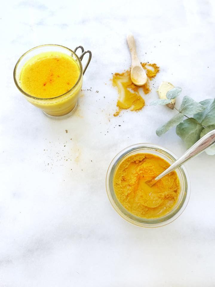 Lait d'Or ou Golden Latte