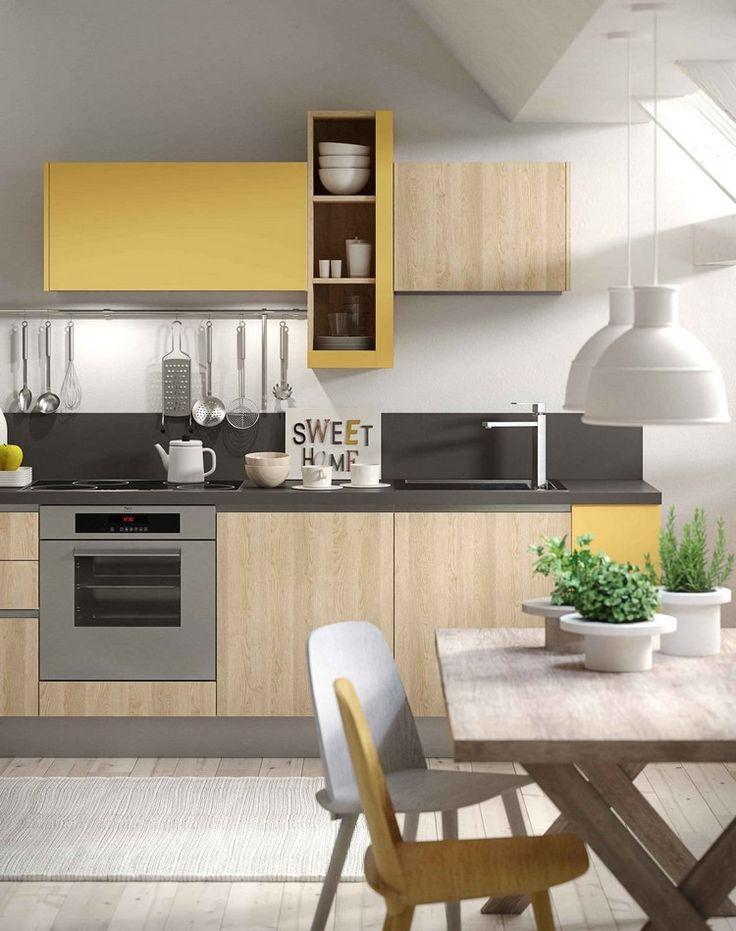 Die besten 25+ graugelbe Küche Ideen auf Pinterest Gelbes - sonne scheint gelben kuche