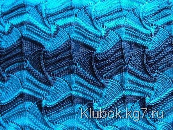 Узор Миссони / Вязание спицами / Вязание для женщин спицами. Схемы вязания спицами