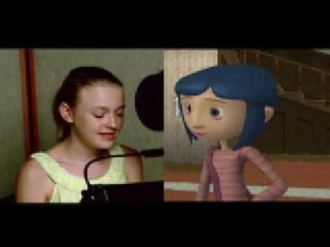 Coraline Game - Get into character with Dakota Fanning behind the scenes.