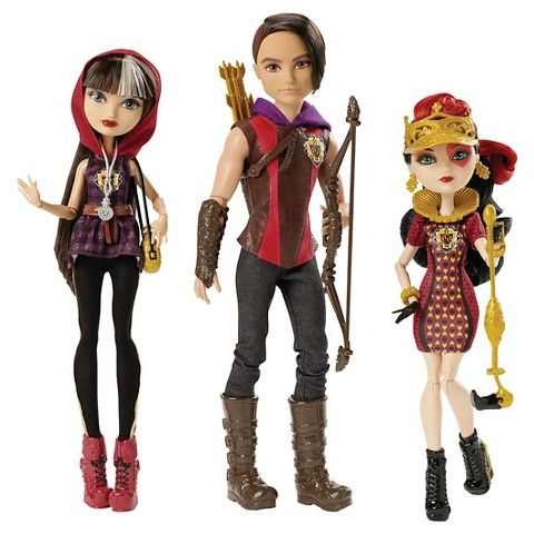 Ever After High Tricastleon Doll 3-Pack