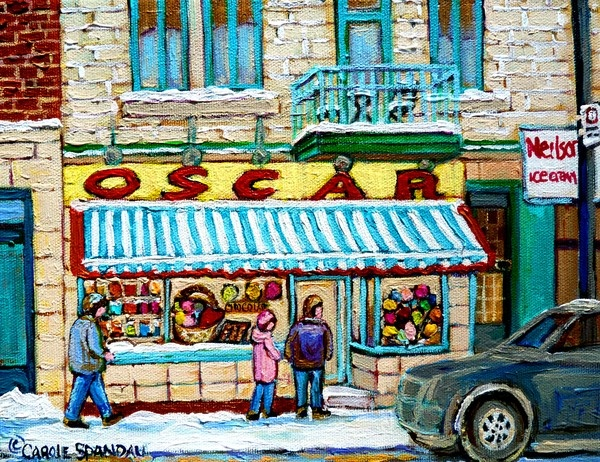 OSCARS CANDY SHOP,MONTREAL by Carole Spandau on ARTwanted